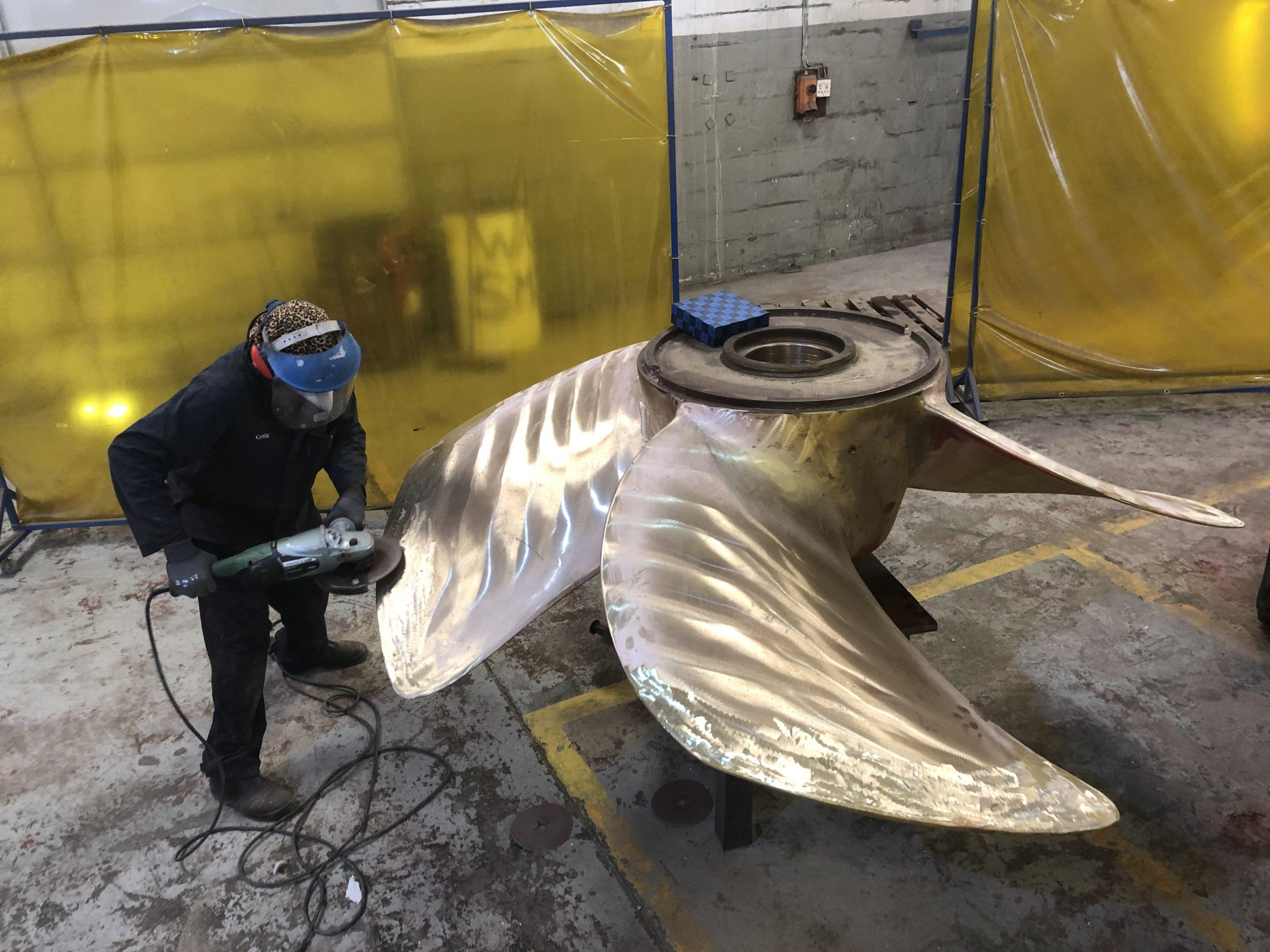 Stone Marine Services - propeller repair
