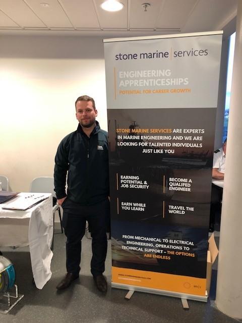 Stone marine services attended Scottish apprenticeship week