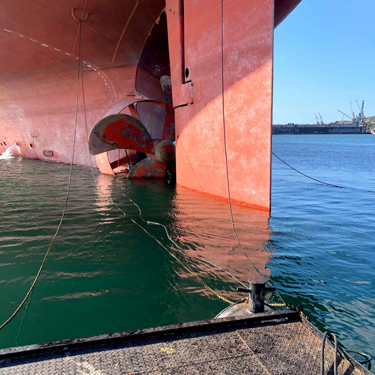 SMS Stern Seal Repair Afloat