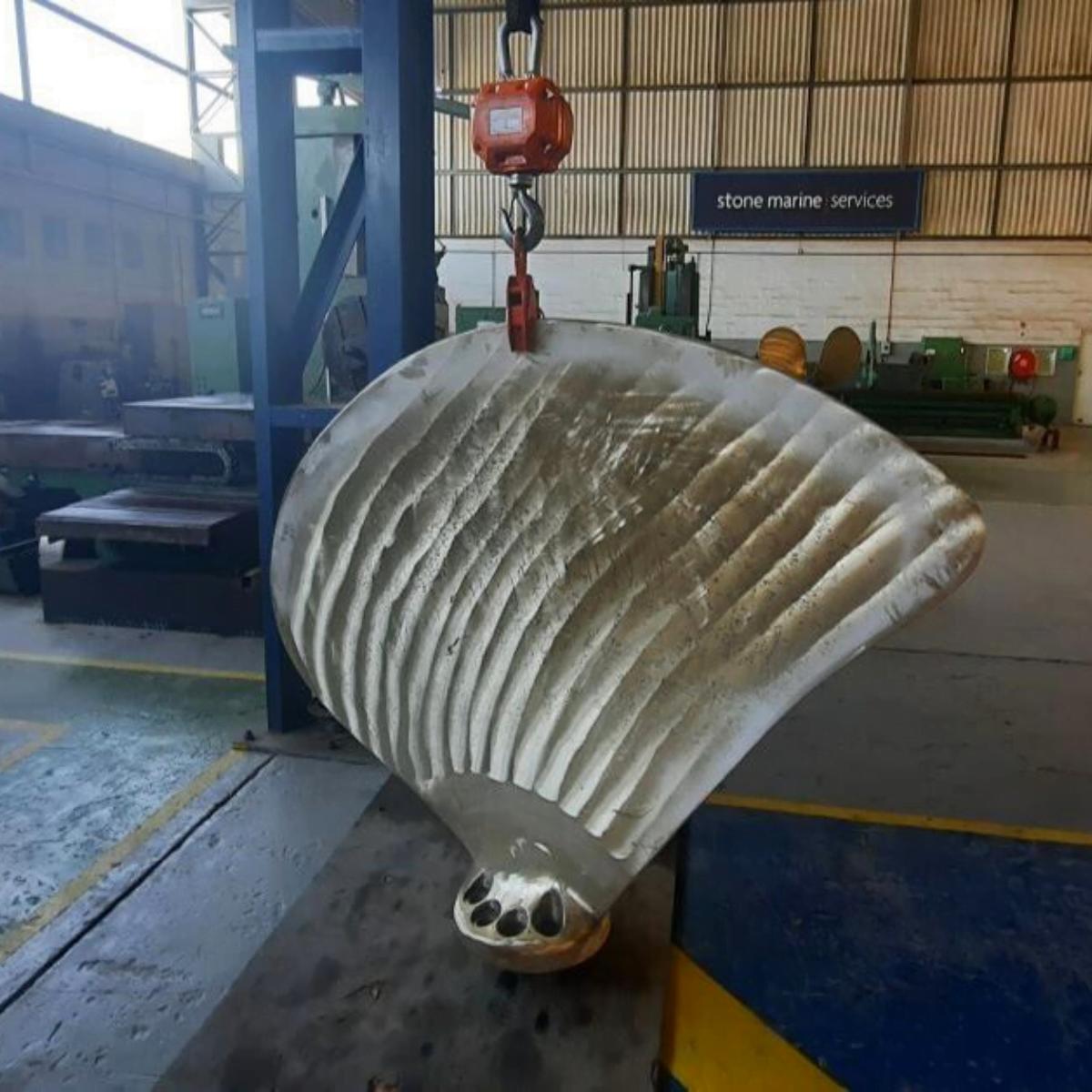 CPP Blade Repair Stone Marine Africa