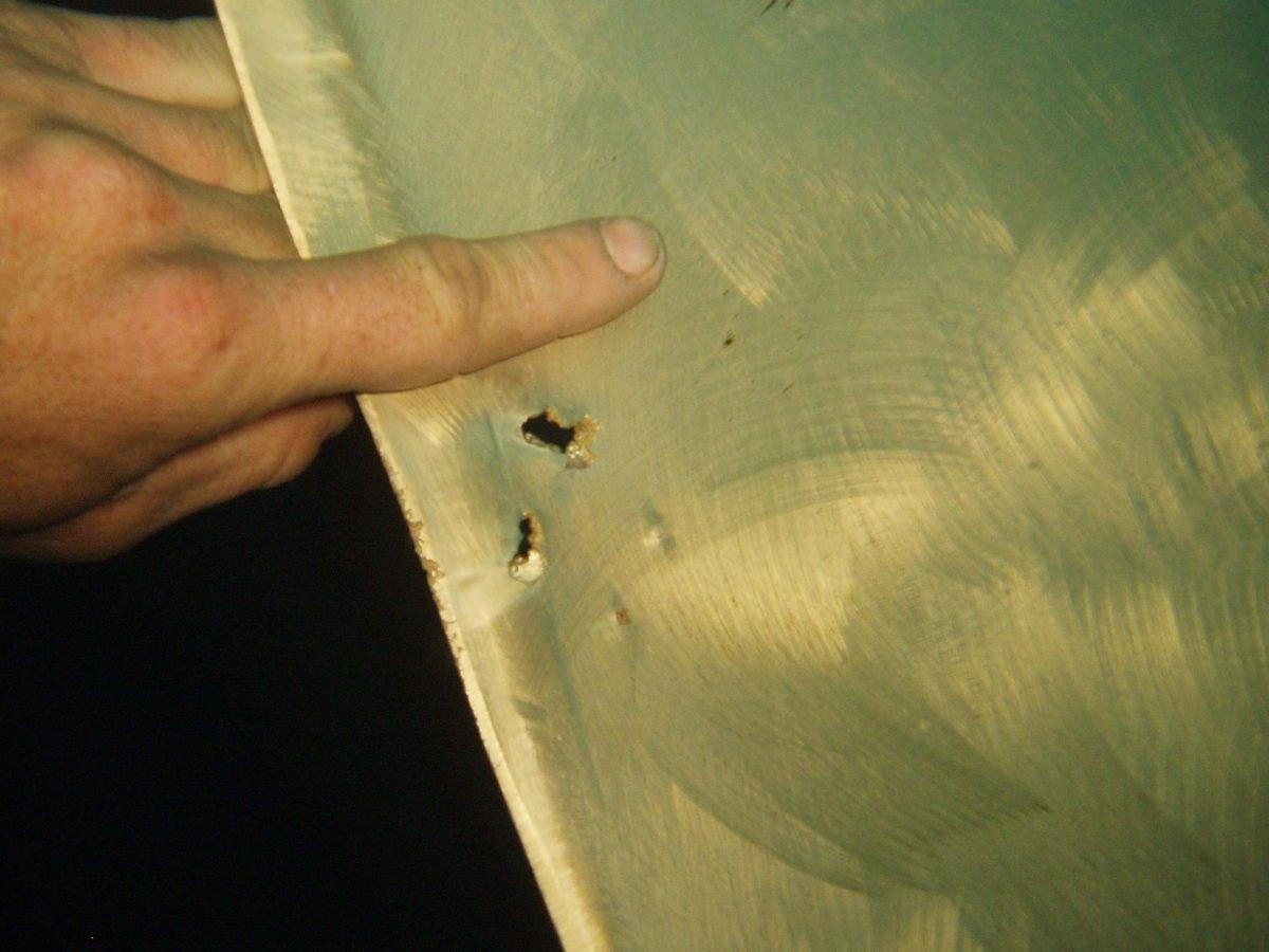 Propeller Damage - Stern Seals