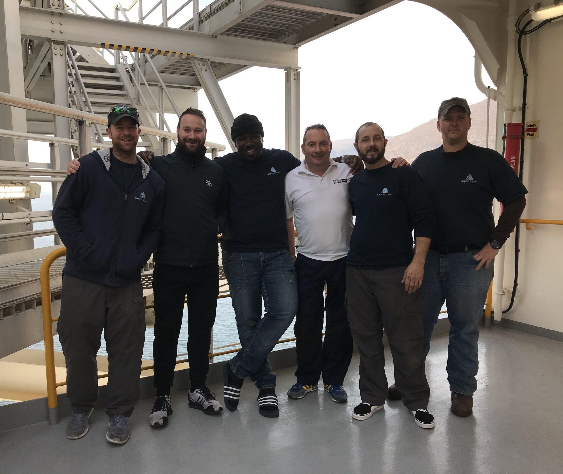 Stone Marine and SGS Team