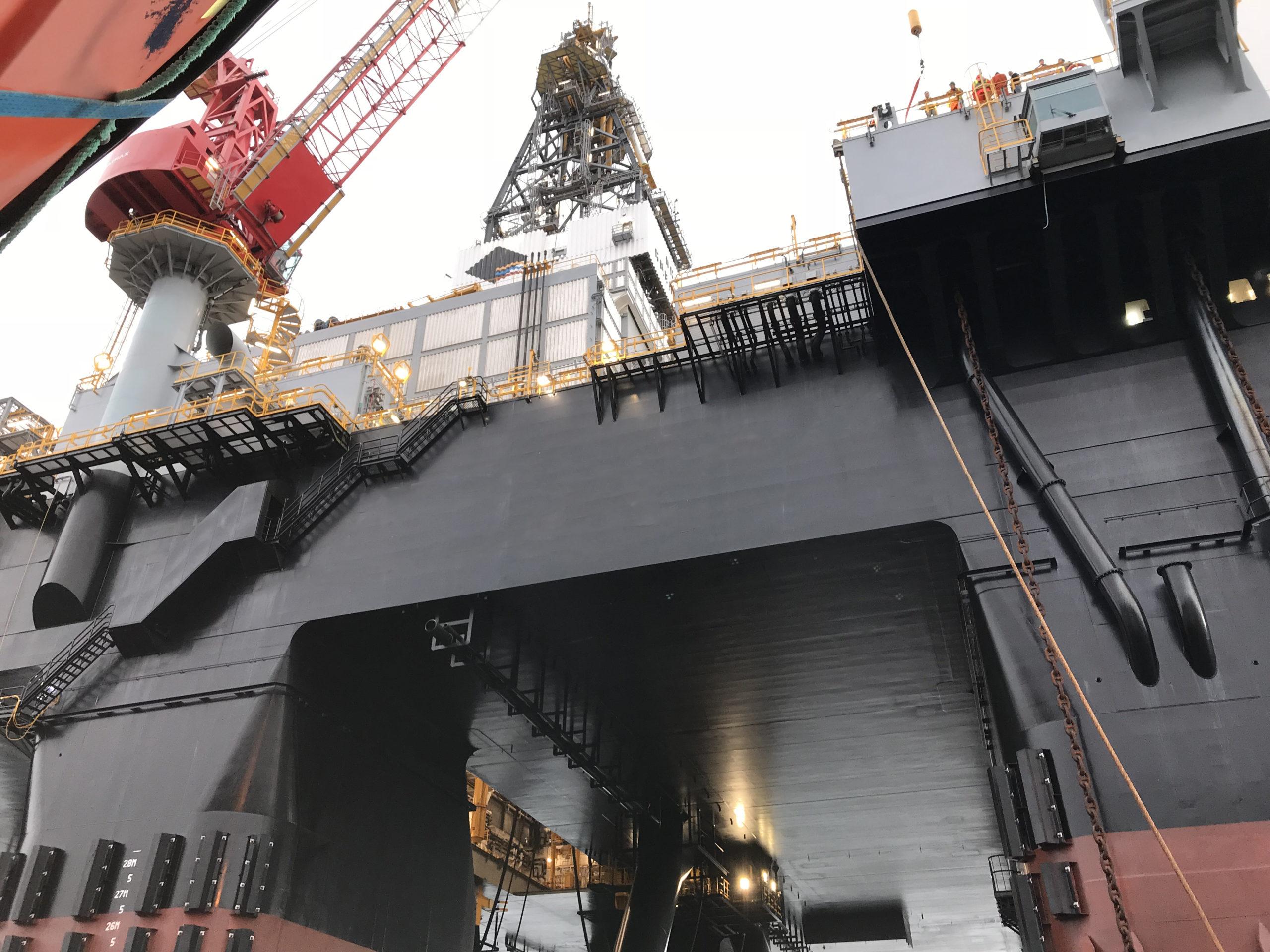 Semi-Sub Oil Rig - SMS Repair
