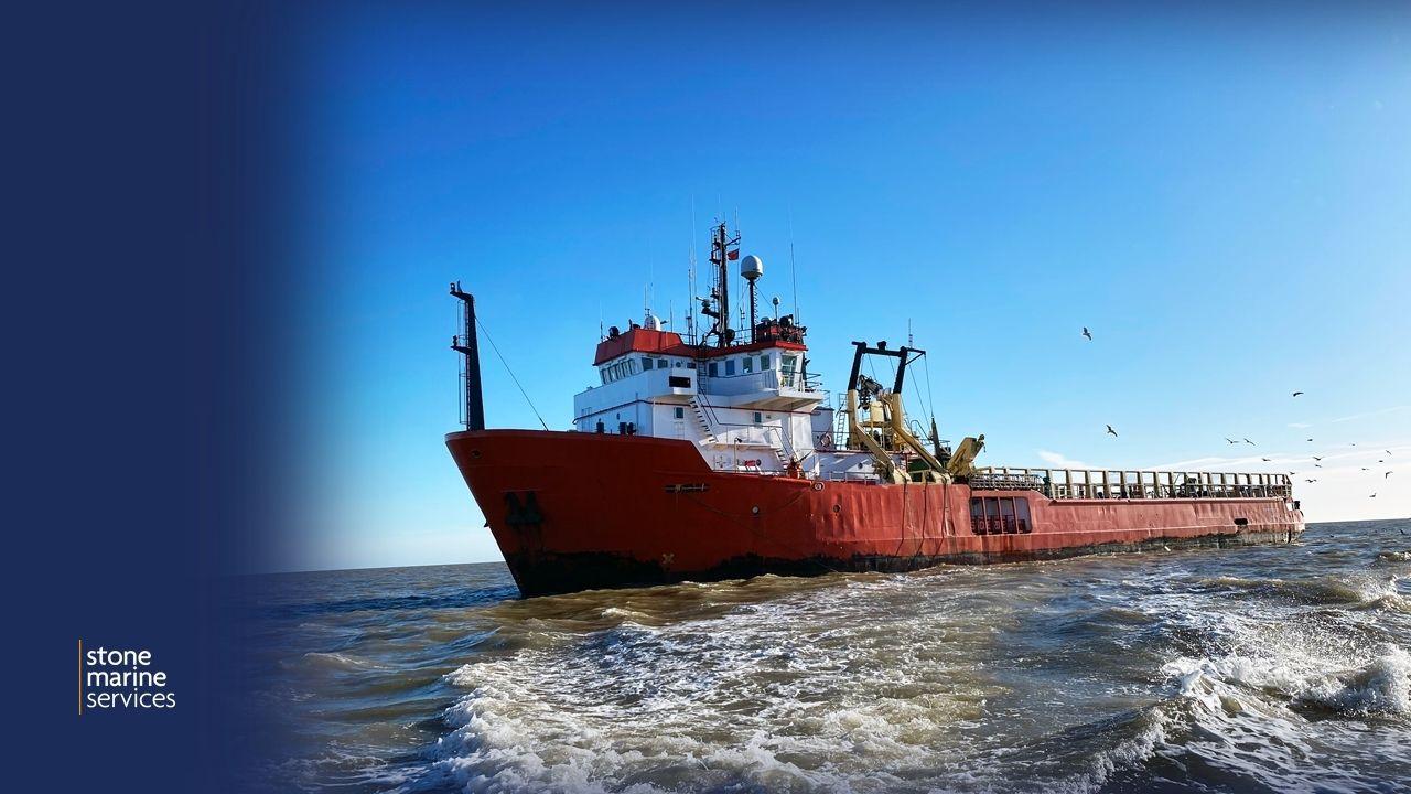 Vessel sailing