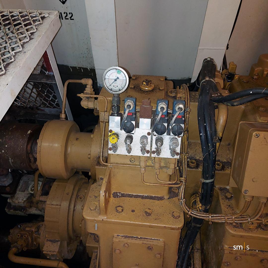 Vessel gearbox
