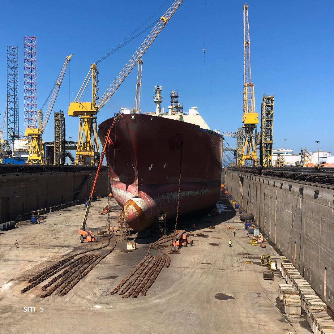 Bow Thruster Overhaul - Vessel in Drydock