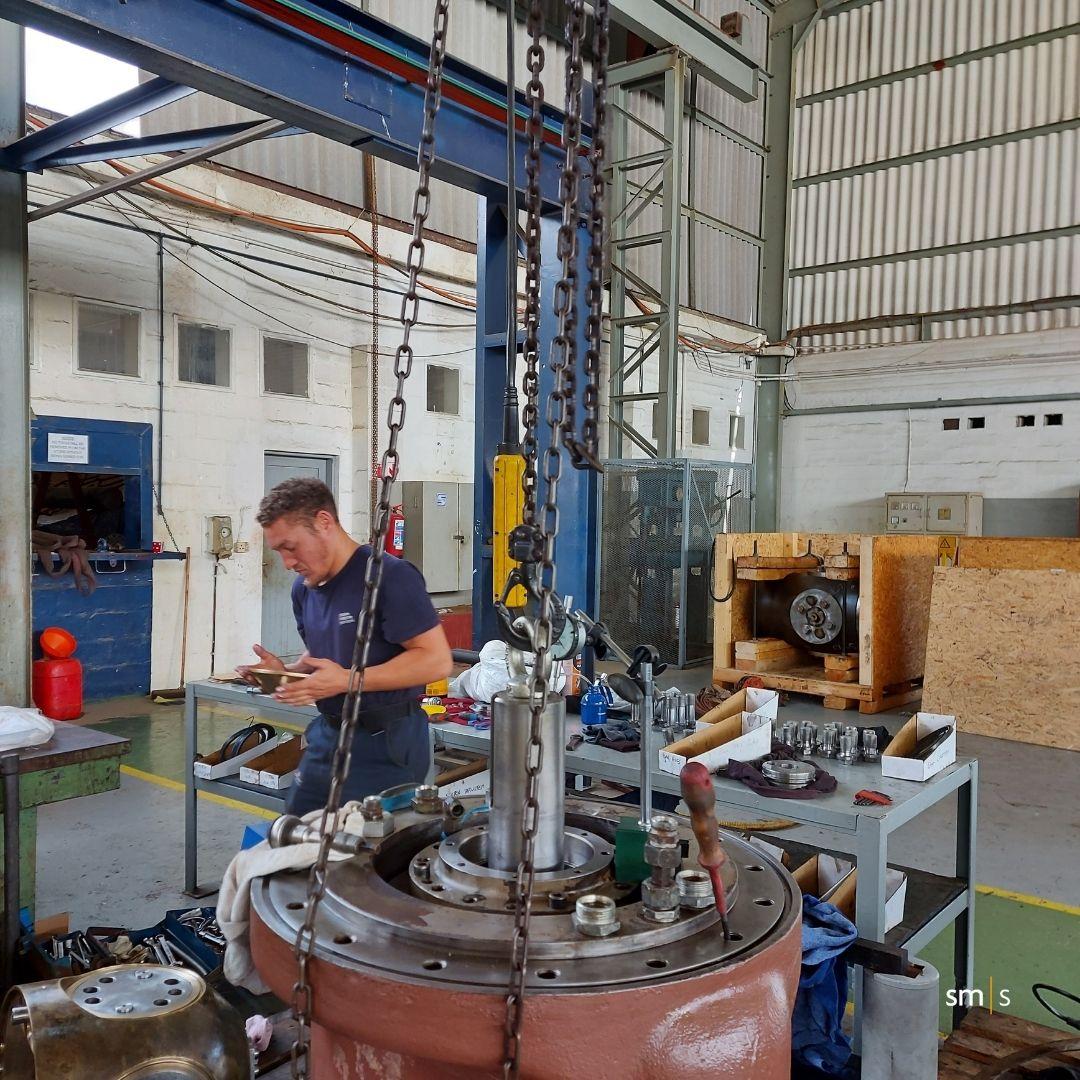 engineering workshop overhaul
