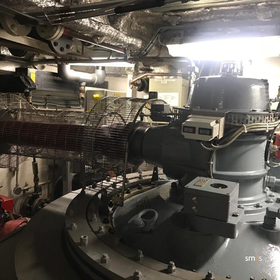 Controls unit inside vessel
