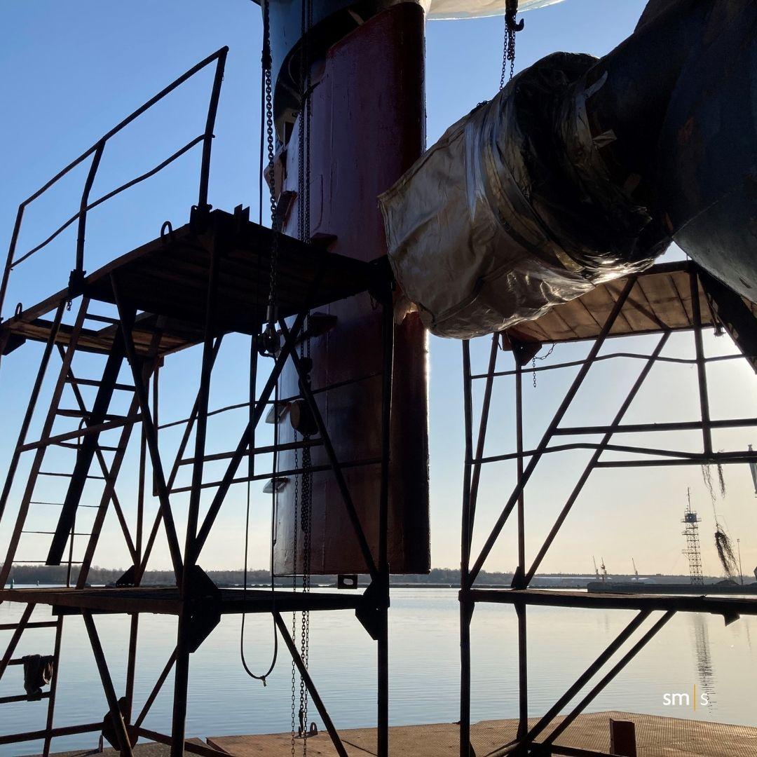 vessel rudder