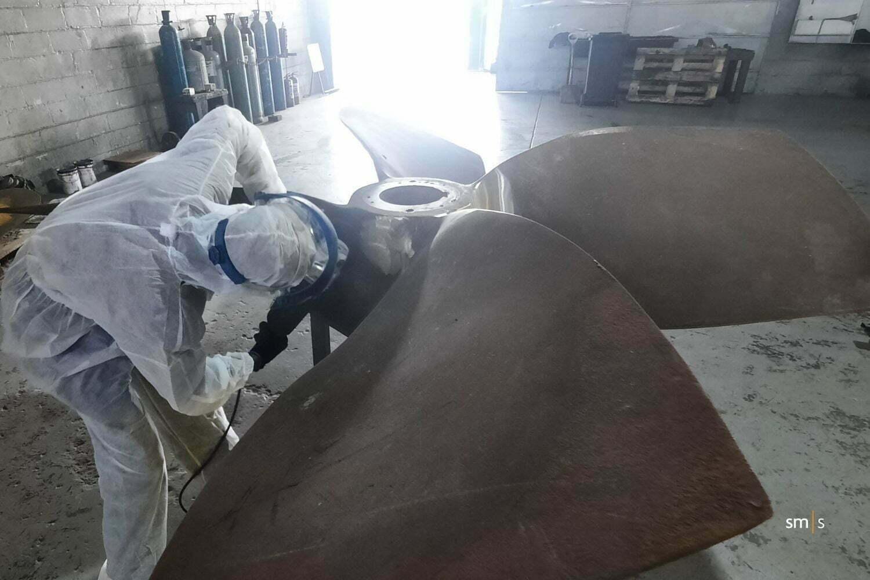 vessel propeller repair